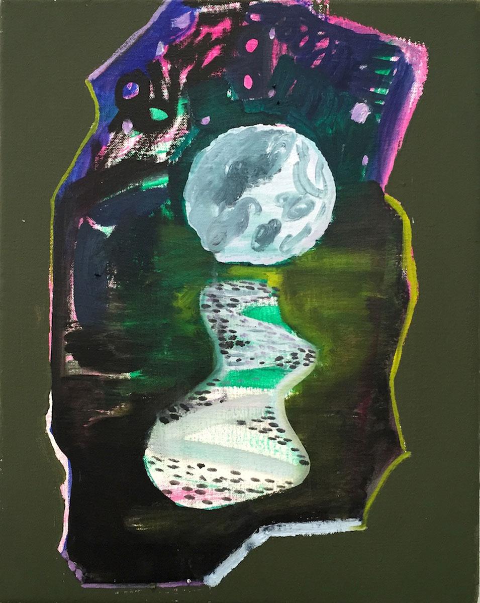 Big Moon by Shara Hughes